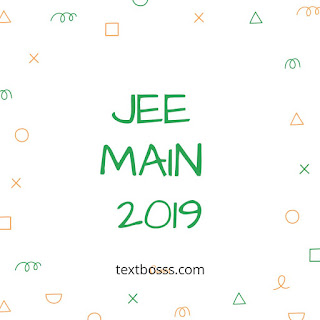 Textbosss.com jee main 2019 NTA