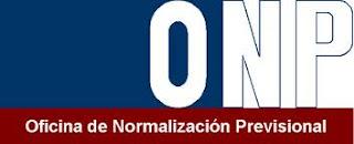 Logo de ONP