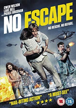 No Escape (2015) ORG Dual Audio Hindi 350MB BluRay 480p x264 ESubs