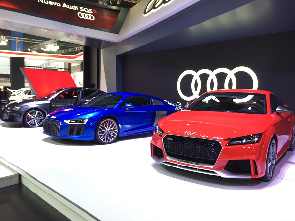 Audi Stand Salón del Automóvil