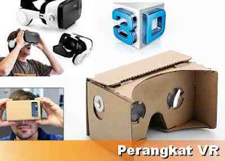 perangkat game Virtual reality