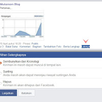 Cara Sembunyikan dan Kembalikan Status Facebook di Kronologi