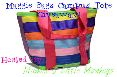 Maggie Bags Campus Tote Giveaway