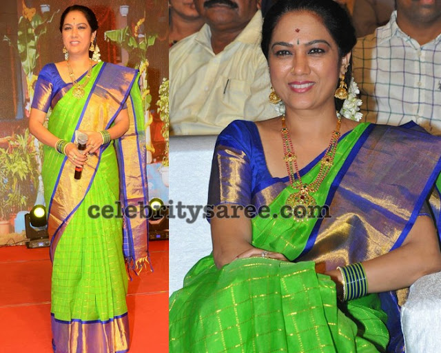 Hema Green Silk Saree