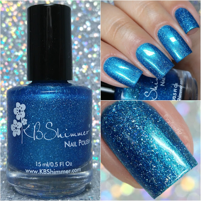 KB Shimmer - Better Lake Than Never | Swatches & Review