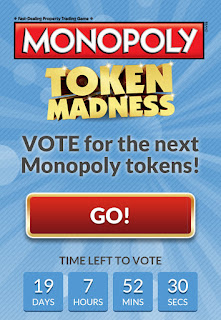 Monopoly Token Madness Promotion