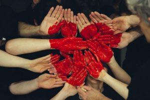 várias famílias, um só coração