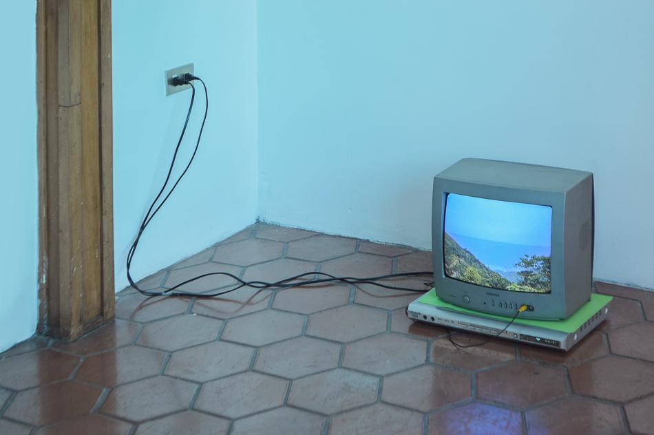 Camino al mar en televisor