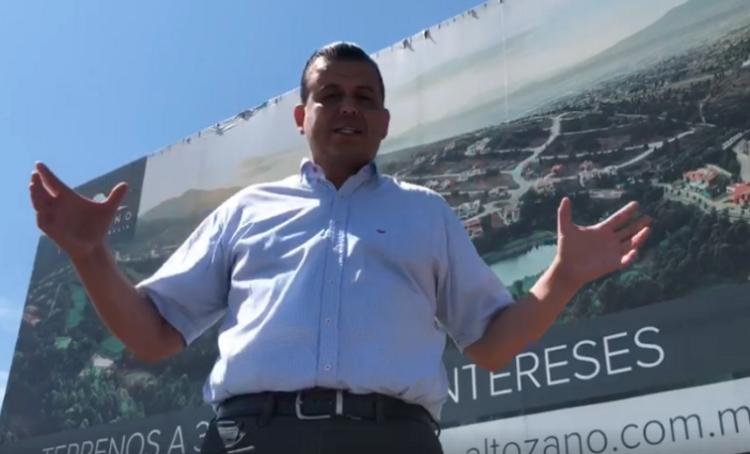 Invito al presidente del PRI a que demande por difundir video sobre su propiedad: Valencia