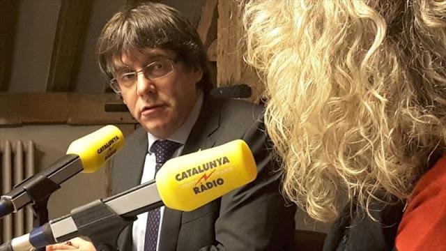 Puigdemont llevará causa catalana ante tribunales internacionales