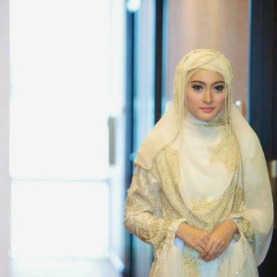 Model Hijab Syar I Pengantin