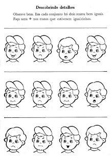 Atividade percepção visual