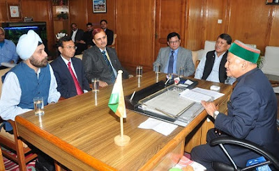 Virbhadra Singh, Shimla, Himachal Pradesh, Himachal CM