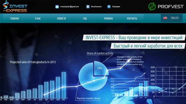 Invest Express обзор и отзывы HYIP-проекта