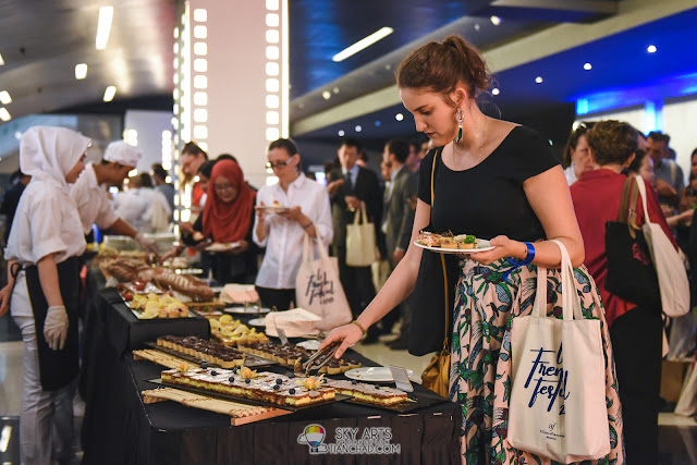 Le French Film Festival 2018 Launching at GSC Pavilion KL, Malaysia - PAUL Finger Food