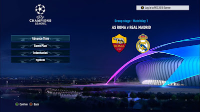 PES 2018 New Champions League Graphic & Intro by Ginda01