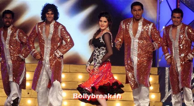 Zarine Khan, Bollywood Celebs at Umang Police Show 2014