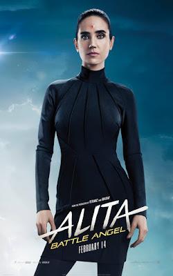 Alita Battle Angel Rosa Salazar Movie Poster 7