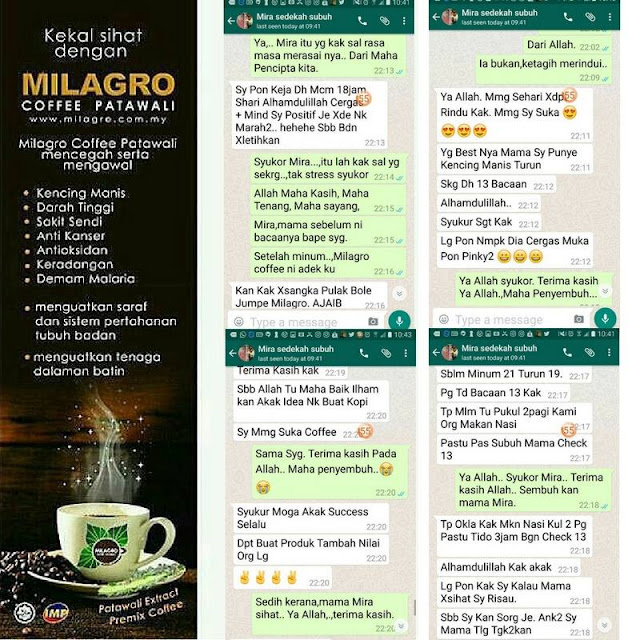 Milagro Coffee, benefits of Patawali Coffee Extract, Tinospora crispa, Milagro Coffee The Best Solution for Diabetec Coffee Addict, coffee for diabetec patient, kopi untuk pesakit kencing manis,