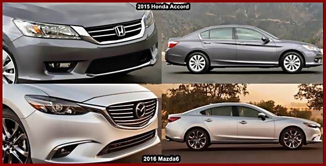 spesifikasi 2016 honda accord vs 2016 mazda 6 autocar. Black Bedroom Furniture Sets. Home Design Ideas