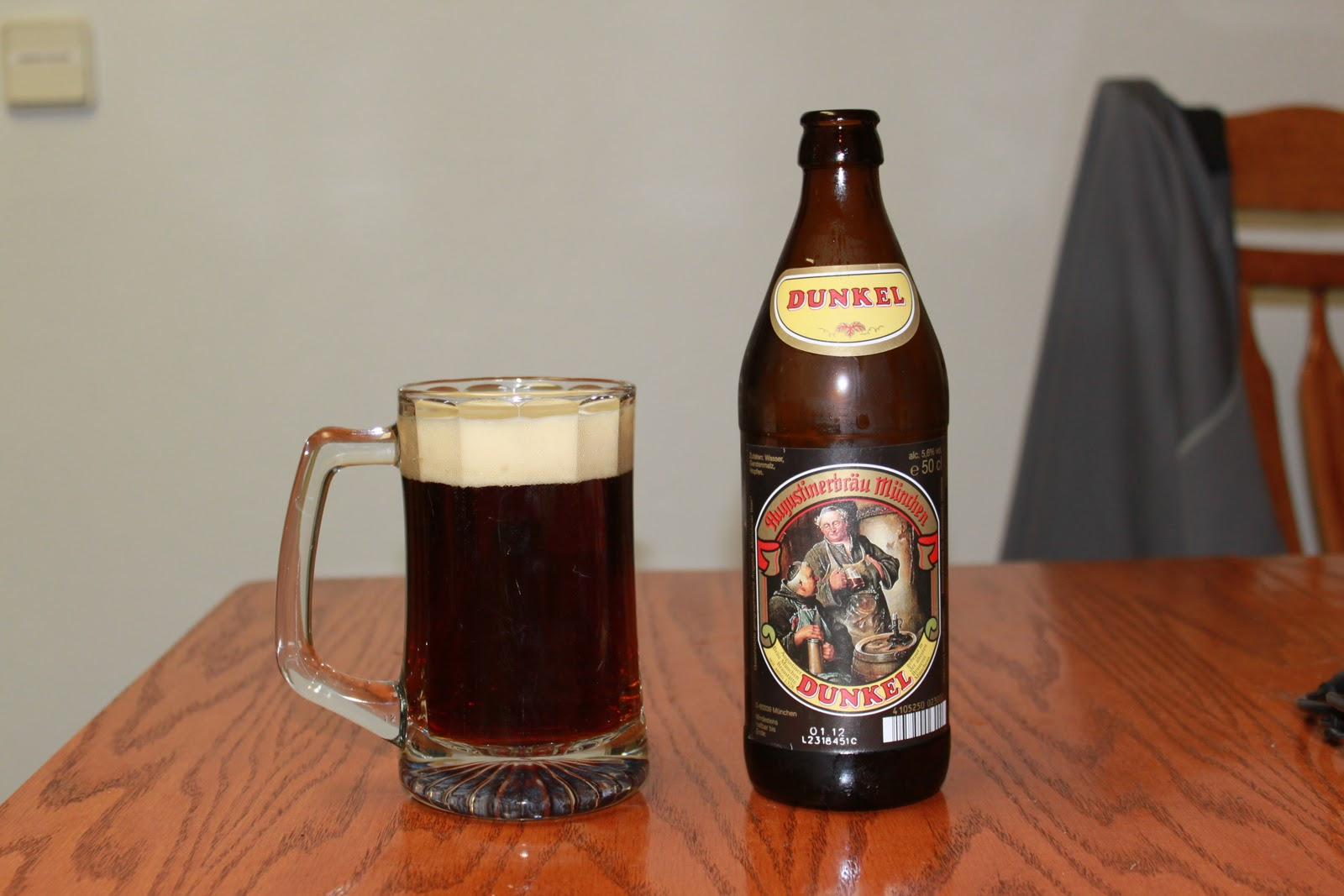 beer drinker with a triathlon problem special beer review augustiner brau munchen. Black Bedroom Furniture Sets. Home Design Ideas