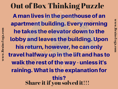 Out of Box Thinking Riddle