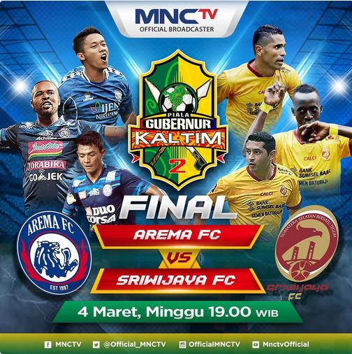 Arema Fc Vs Persebaya: Siaran Langsung Final Piala Gubernur Kaltim 2018 Arema FC