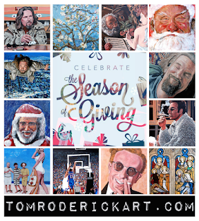 Celebrate the Season of Giving by Boulder artist Tom Roderick