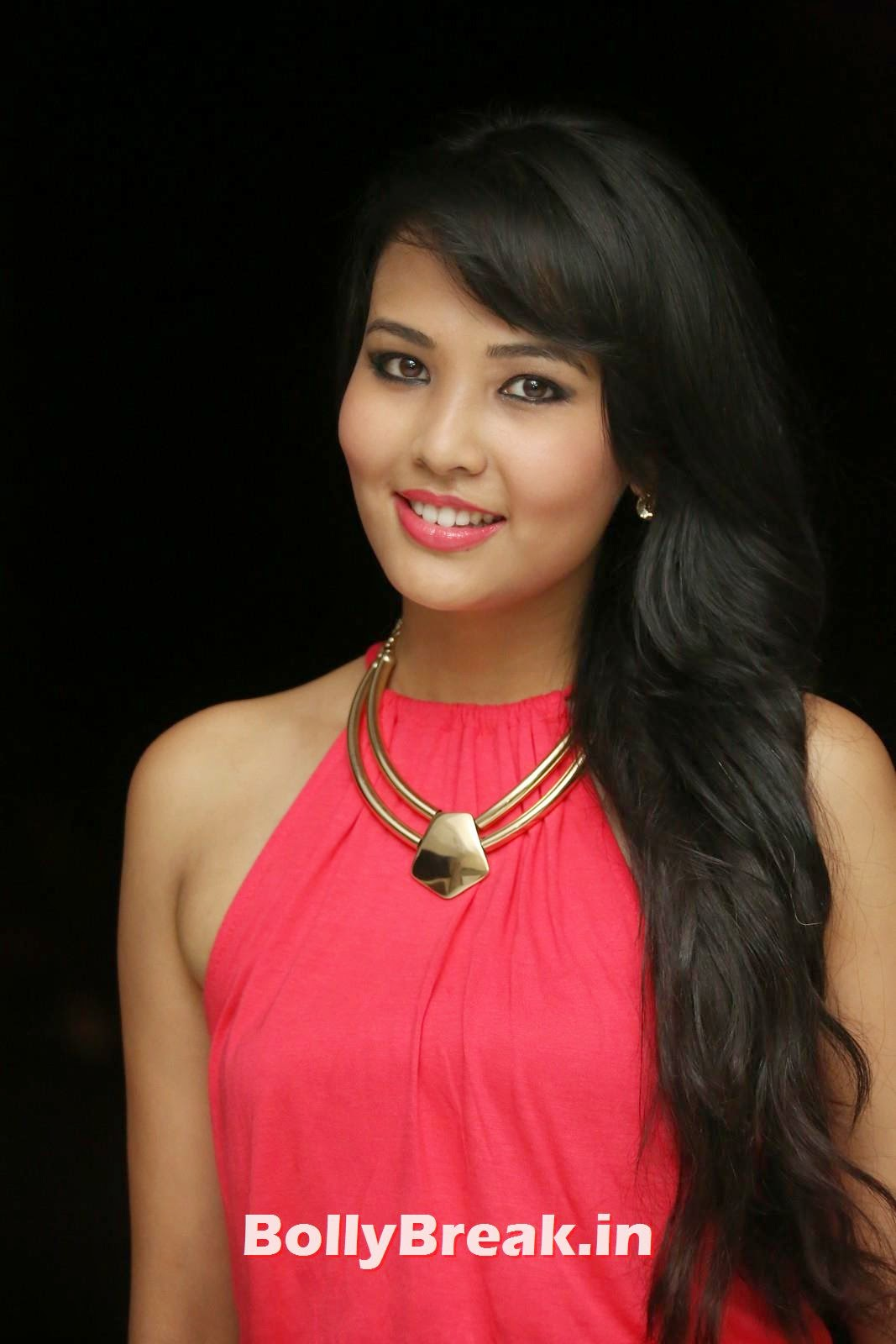 , Sagarika Chhetri Hot Images in Red Dress