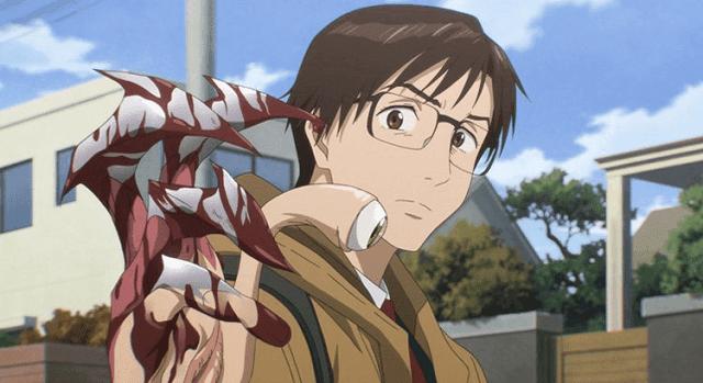 Parasyte di tangan kiri Sinichi diberi nama Migi