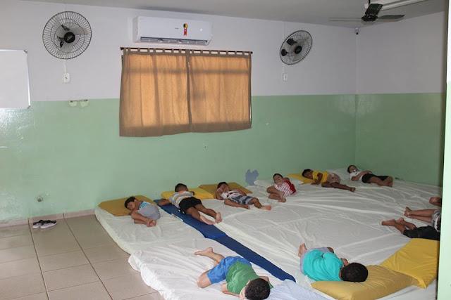 Creches de Mendonça ganham aparelhos de ar condicionado