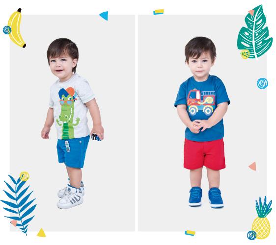 Ropa de moda para bebes verano 2018.