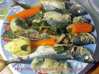 Ψαρόσουπα αυγοκοφτή - από «Τα φαγητά της γιαγιάς»