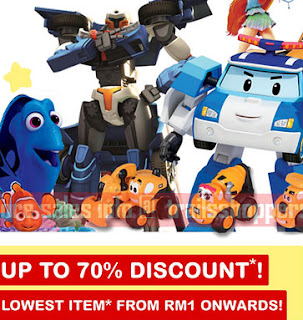 Branded Toys & Gifts Warehouse Sale 2017