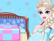 Queen Elsa is going to be a mom! Let's play this fun Queen Elsa Pregnancy Care game and take care of Queen elsa during her pregnancy. She may have cravings for certain food, so play a fun memory game and get this food for her. Then help her prepare a cup of juice and give her a relaxing massage. Take Elsa to the routine maternity checkup in the hospital and relieve her symptoms. At last, Elsa is going to know she is having a boy or a girl!