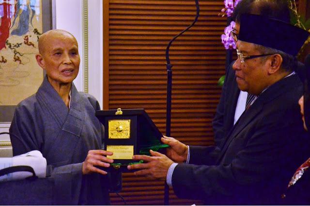 Bertemu Ketum PBNU, Umat Buddha Taiwan Bahagia Melihat Kehidupan Keagamaan Di Indonesia