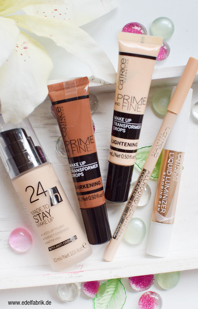 Catrice Neues Sortiment, Review Teint, Foundation, Highlighter, transformer Drops