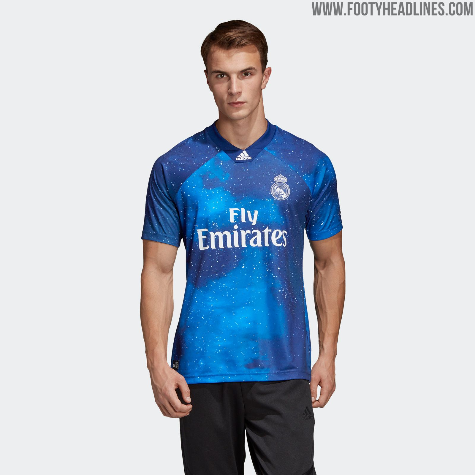 f0a8b1e8b Outstanding Adidas x EA Sports Real Madrid Kit Released
