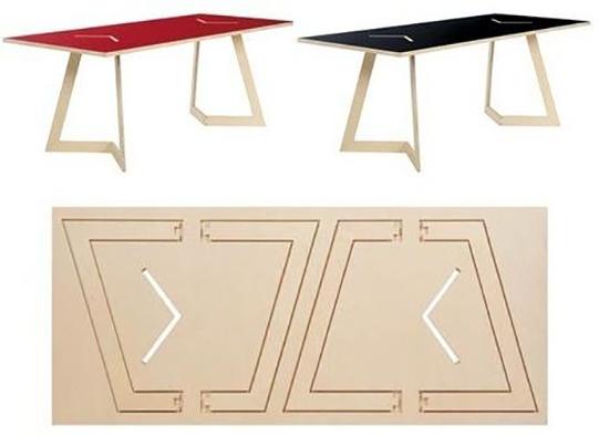 9 gambar meja lipat minimalis super keren!!!