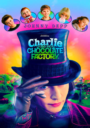 Charlie and the Chocolate Factory (2005) BRRip 720p Dual Audio In Hindi English