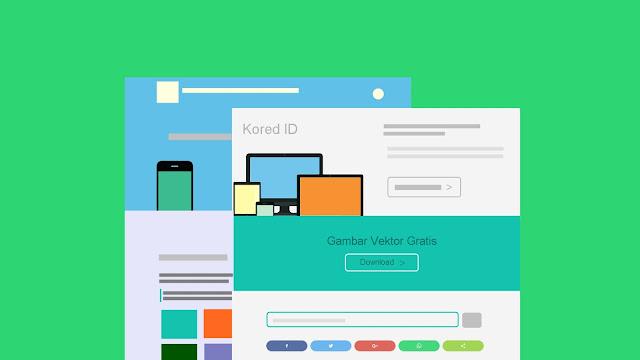 situs penyedia gambar vektor - Kored ID