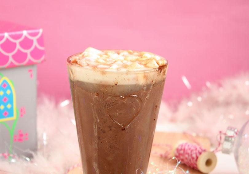 dairy-free black cherry hot chocolate