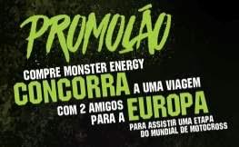 Cadastrar Promoção Monster Energy 2018 Viagem Europa Mundial Motocross