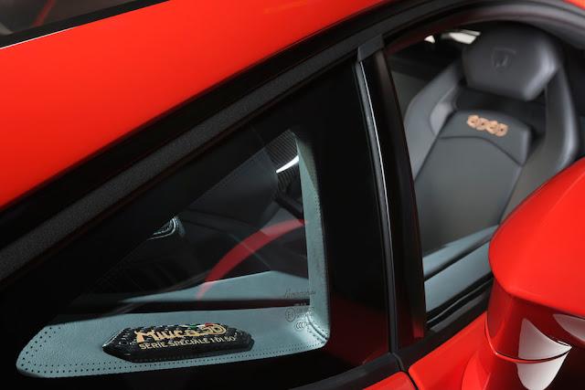 ランボルギーニ、ミウラ誕生50周年記念車「アヴェンタドール・ミウラ・オマージュ」を発表!