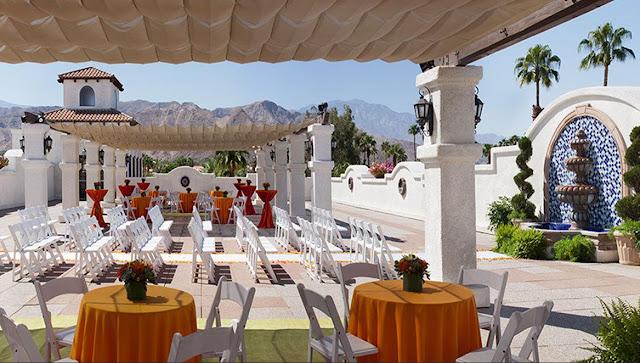 Palm Springs Wedding Venue Omni Rancho Las Palmas Resort Spa Review