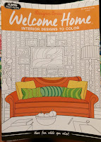 Welcome Home interior designs to color detailed wallpaper couches living room space sketches