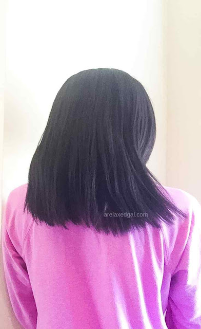 First Relaxer Touch-up Of The Year Results | A Relaxed Gal