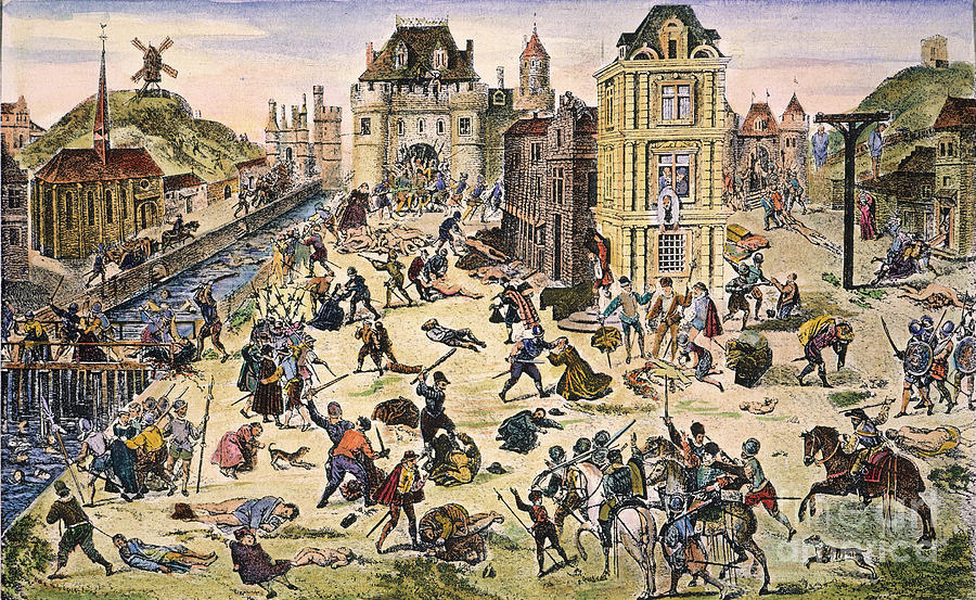 Massacre Of Huguenots