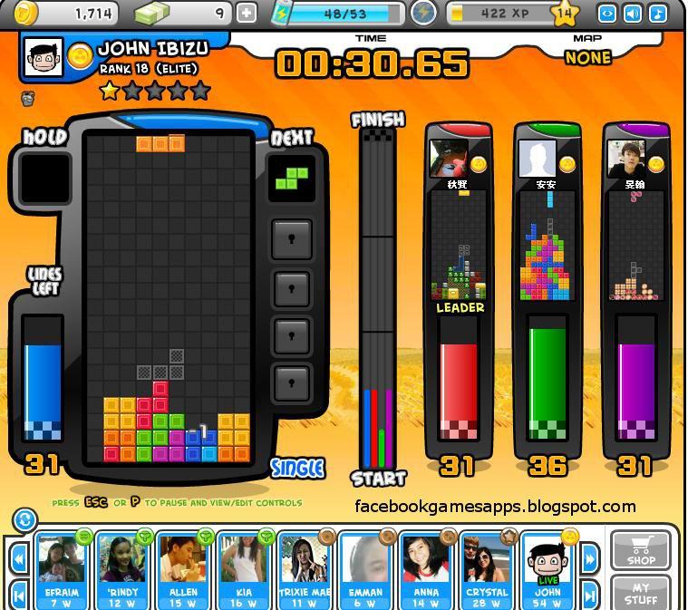 Tetris battle 2 player