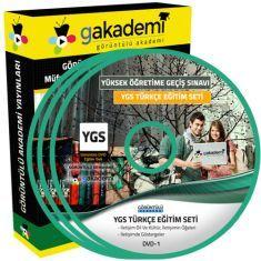 Görüntülü YGS Türkçe Eğitim Seti 18 DVD